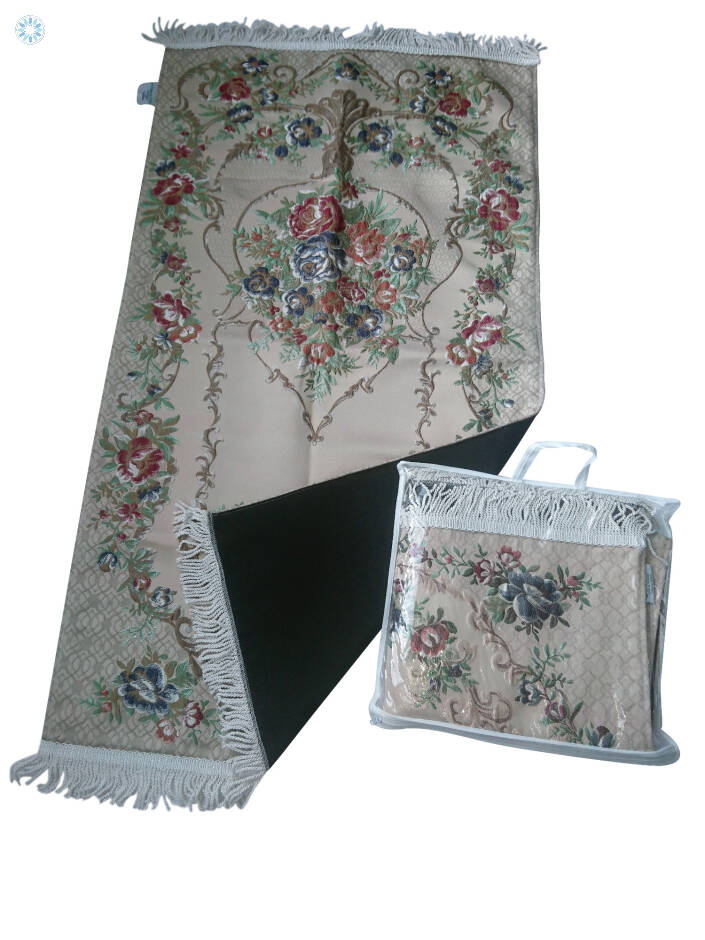 d9e1f25480b79 Essentials › Prayer Mats › Luxury Hand Embroidery Padded Embroidered ...
