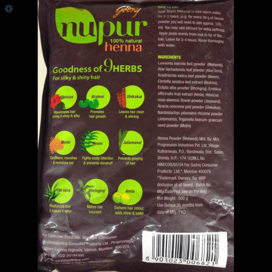 Health Mehndi Henna Nupur Henna 9 Goodness Of Herbs